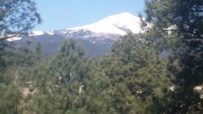 SNOWCAPPED VIEWS FROM TOP DECK ...GORGEOUS...BREATHTAKING !