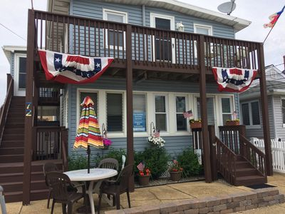 Seaside Pk Family Rental - Steps to the ocean or bay - Seaside Park