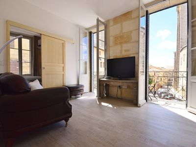 Photo for 2nd floor apartment in a parisien style townhouse facing the Ducal Palace.