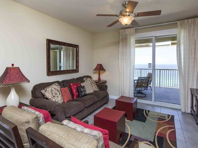 Photo for Beachfront Grand Panama ~ Private Balcony Overlooking Gulf of Mexico!