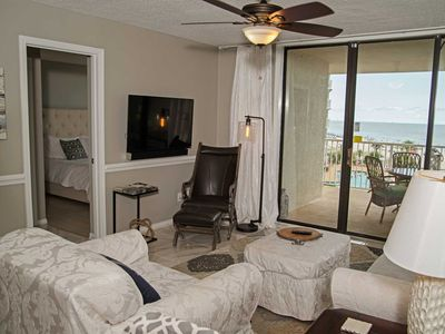 Photo for 2 Bedroom Sleeps 8 ~Great Location/Amenities ~ Gulf View ~ Seaside Beach & Racquet 4409