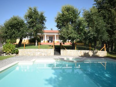 Photo for Villa with plenty of privacy, a large garden, enclosed pool and playground