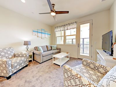 Photo for Brand-New 2BR w/ Balcony & Bikes – 1 Mile to Beach, Walk Minutes to Dining