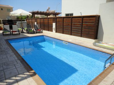 Photo for 3 bedroom family friendly villa, Private Pool , accommodation for 8 people