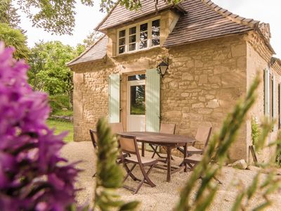 Photo for Three lovely gîtes surrounded by nature, with private swimming pool and garden