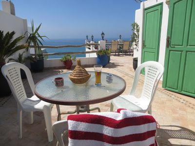 Photo for Albatross - Beautiful Penthouse next  to the main beach of Taghazout