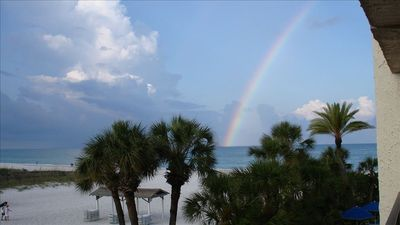 This is your view from our condo. We hope you see your rainbow during your stay