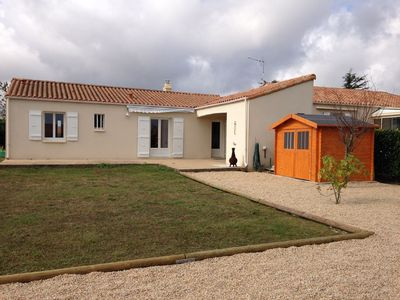 Photo for Villa within walking distance of restaurants and shops, close to La Tranche