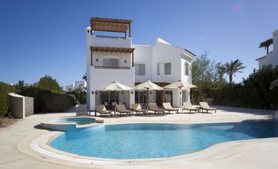 Photo for El Gouna - Oasis Palms - Modern Luxury Villa with Heated Private Pool