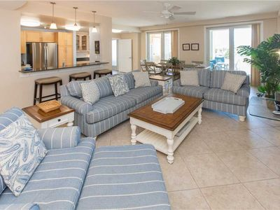 Photo for THREE BEDROOM CONDO WITH GREAT OCEAN VIEWS, POOLS, PRIVATE BOARDWALK IN GREAT LOCATION.
