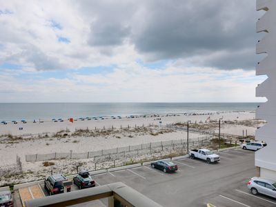 Photo for Walk to the Hangout! Large Balcony with View of Gulf! Quick online booking for activities!