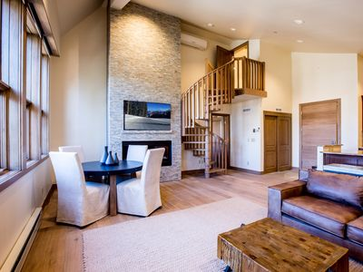 Photo for Luxury Vail Village Condo, 2 Bedroom, Sleeps 5, Walk to Slopes