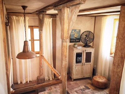 Photo for Romantic stone cottage in the historical place