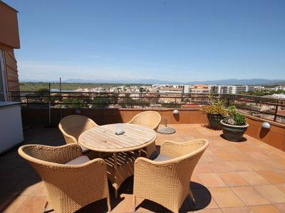 Photo for Apartment with big terrace and nice views