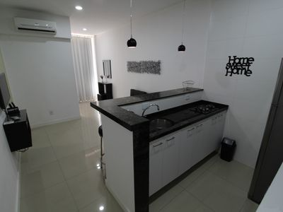 Photo for Beautiful, renovated and cozy bedroom and living room in the heart of Copacabana
