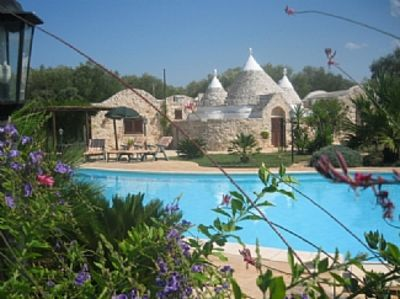 Photo for Trullo Santana With A Stunning 16 X 8 Metre Pool