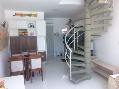 Photo for Flat in Mandakaru Residence - Duplex 02 qtos until 06 - next to the Beach and the boardwalk