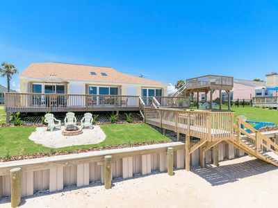 Photo for Remodeled home, right on the beach.  Close to St. Augustine.