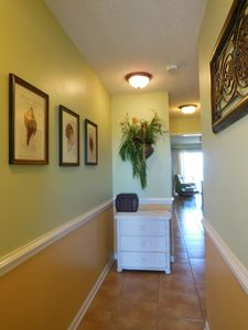 Entry hallway - the beginning to your vacation