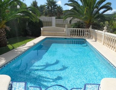 Photo for Villa in Javea to sleep 6 with  air conditioning, wifi and private swimming pool