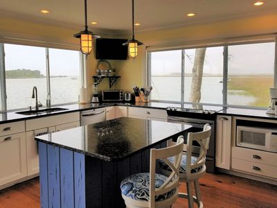 Photo for One of a Kind, like living in a Houseboat! Amazing View! Open Concept on water