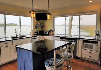 One of a Kind, like living in a Houseboat! Amazing View! Open Concept on  water - Folly Beach