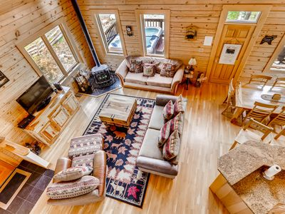 Photo for (DISCOUNTS AVAILABLE) Beautiful Peak 7 Private Home- 4 Bedroom, Private Hot Tub