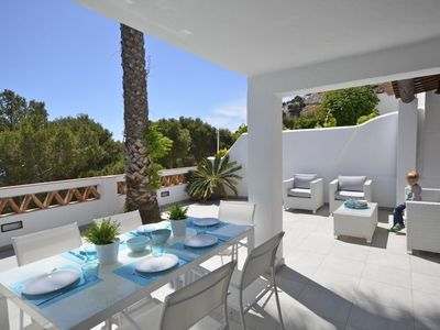 Photo for Holiday rental semidetached with swimming pool in Begur, Sa Tuna