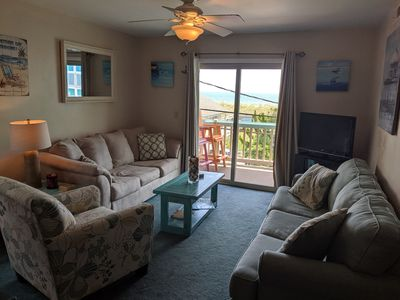 Cozy Living Room w/one pull out couch
