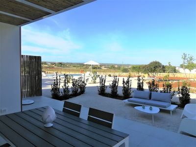 """Photo for """"La Janca"""" Villa with Pool - Dune House with garden 2 steps from the beach"""