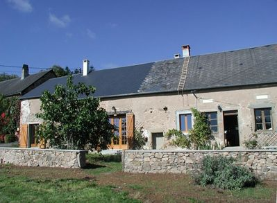farmhouse from the outside front