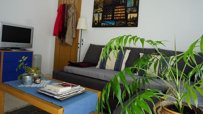 Photo for Sunny studio in a quiet neighborhood, with small kitchen and bathroom.
