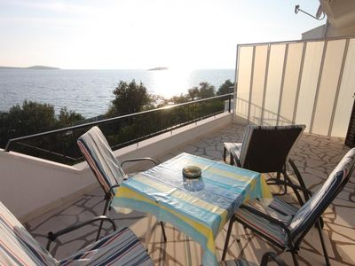 Photo for Two bedroom apartment near beach Rogoznica (A-7499-b)