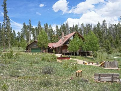 Photo for Log Home with Panoramic Views near the Idleglen Trailhead and Stillwater Pass
