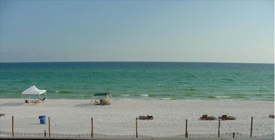 Beach View from long balcony off of Living Room and Master Bedroom