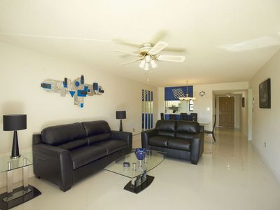 Photo for Groundfloor...Completely Renovated...Right on Beach...Modern