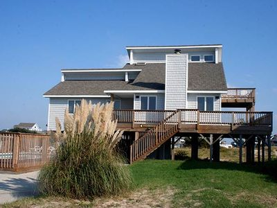 Photo for #CV1: OCEANSIDE Home in Corolla w/PRVTPool & HotTub, DogFriendly