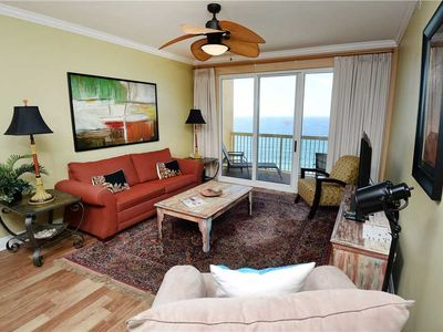 Photo for Calypso 1006 East - Tower I, 3 Bedrooms, Sleeps 8, Beachfront, Wi-Fi