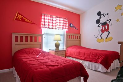 Mickey Suite at Next2Disney Sweet Dreams awaits you! BOOK TODAY
