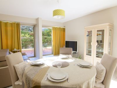 Photo for Air-conditioned apartment close to the beach