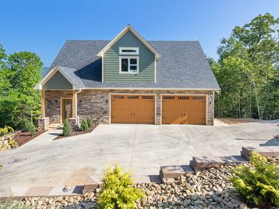 Photo for Lake Lure home, amazing mountain views, hot tub, close to Tryon & Asheville!