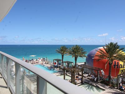 Photo for Hyde Luxurious Ocean View 1 Bedroom Apt on the Beach