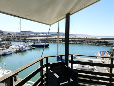 Photo for Deauville Marina, F5 with Terrace, 100m from the sea