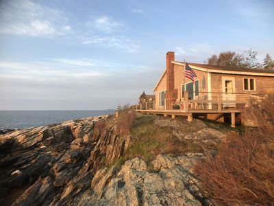 Photo for Can't Beat This View-- Oceanfront Cottage: 2 Bdrm- Dog Friendly- WIFI