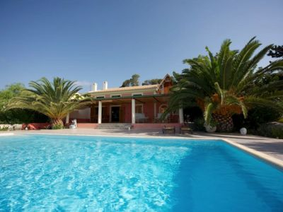 Photo for Moon & Sun superb villa with large pool, breath-taking view & pvt access to sea