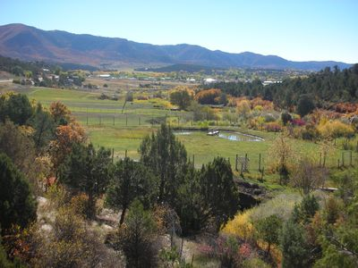 View from upper deck, Mancos Valley