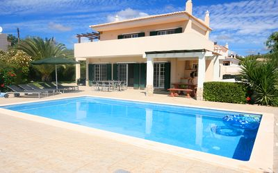 Photo for Charming 4 Bedroom Villa w/ Private Pool, Sleeps 8, Wifi, A/C, near Lagos Marina