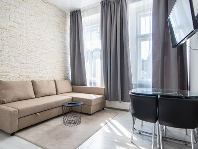 Photo for Modern apartment with 2 bedrooms and 2 bathrooms in Andel by easyBNB