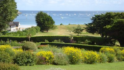 Photo for Exceptional duplex of 140 sqm classified **** facing the beach and golf!