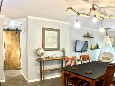 Photo for 2BR Urban Escape Apt on Quiet Wooded Street